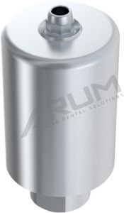 ARUM INTERNAL PREMILL BLANK 14mm ENGAGING - Compatible with Straumann® SynOcta® RN 4.8