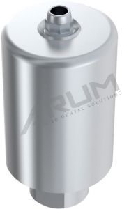 ARUM INTERNAL PREMILL BLANK 14mm ENGAGING - Compatible with Straumann® SynOcta® WN 6.5