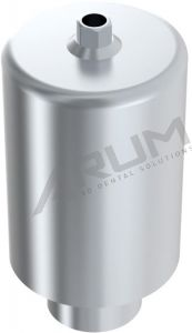 ARUM INTERNAL PREMILL BLANK 14mm ENGAGING - Compatible with ZIMMER® Tapered Screw-Vent® 3.5