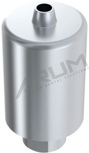 ARUM EXTERNAL PREMILL BLANK 14mm NON-ENGAGING - Compatible with MegaGen® Rescue External D5.0/D6.0