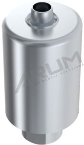 ARUM INTERNAL PREMILL BLANK 14mm NON-ENGAGING - Compatible with Straumann® SynOcta® RN 4.8