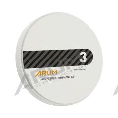 ARUM Smile Symphony Blank 98 Ø x 14 mm - A2 (with step)