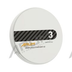 ARUM Smile Symphony Blank 98 Ø x 18 mm - A3 (with step)