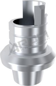 ARUM INTERNAL TI BASE SHORT TYPE NON-ENGAGING - Compatible with Dentium® SuperLine 3.6/4.0/4.5/5.0/6.0/7.0