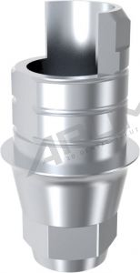 ARUM INTERNAL TI BASE SHORT TYPE ENGAGING - Compatible with NeoBiotech® IS System 3.6/4.2/4.8/5.4