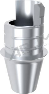 ARUM INTERNAL TI BASE SHORT TYPE NON-ENGAGING - Compatible with NeoBiotech® IS System 3.6/4.2/4.8/5.4