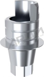 ARUM INTERNAL TI BASE SHORT TYPE ENGAGING - Compatible with WARANTEC® Oneplant Tapered 4.3/5.3 - Straight 3.6/4.1/5.1