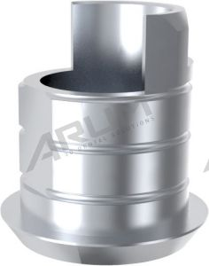 ARUM EXTERNAL TI BASE SHORT TYPE NON-ENGAGING - Compatible with Osstem® US Wide 5.1