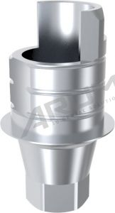 ARUM INTERNAL TI BASE SHORT TYPE ENGAGING - Compatible with Astra Tech™ OsseoSpeed™ TX YELLOW 3.0