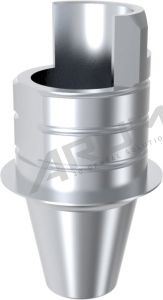 ARUM INTERNAL TI BASE SHORT TYPE NON-ENGAGING - Compatible with Southern Implants® Deep Conical 3.5/4.0