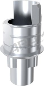 ARUM INTERNAL TI BASE SHORT TYPE ENGAGING - Compatible with Nobel Biocare® Replace® RP 4.3