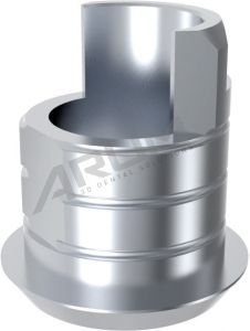 ARUM EXTERNAL TI BASE SHORT TYPE NON-ENGAGING - Compatible with Bredent Medical Sky® Mini2