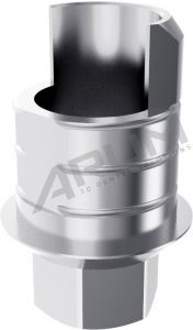 ARUM INTERNAL TI BASE SHORT TYPE (RP) 4.5 ENGAGING - Compatible with Implant Direct® Legacy®