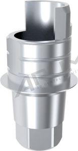 ARUM INTERNAL TI BASE SHORT TYPE ENGAGING - Compatible with C-Tech® Esthetic Line 3.8/4.3/5.1