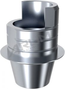 ARUM INTERNAL TI BASE SHORT TYPE NON-ENGAGING - Compatible with MegaGen® Rescue Internal