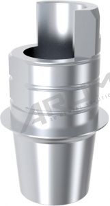 ARUM INTERNAL TI BASE SHORT TYPE NON-ENGAGING - Compatible with MegaGen® MINI 3.0