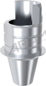 ARUM INTERNAL TI BASE SHORT TYPE NON-ENGAGING - Compatible with Astra Tech™ OsseoSpeed™ TX YELLOW 3.0