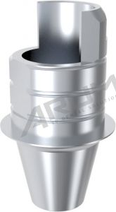 ARUM INTERNAL TI BASE SHORT TYPE NON-ENGAGING - Compatible with ADIN® CLOSEFIT™ 4.3/5.0