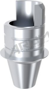 ARUM INTERNAL TI BASE SHORT TYPE NON-ENGAGING - Compatible with Nobel Biocare® Active™ RP 4.3/5.0