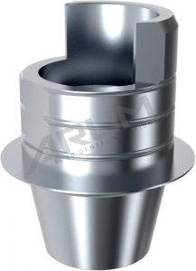 ARUM EXTERNAL TI BASE SHORT TYPE NON-ENGAGING - Compatible with MegaGen® Rescue External 5.0