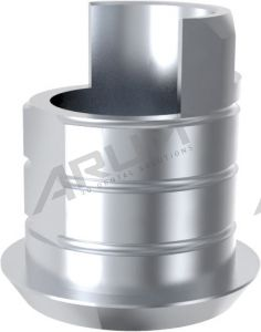 ARUM EXTERNAL TI BASE NON-ENGAGING - Compatible with Zimmer® Spline 3.75