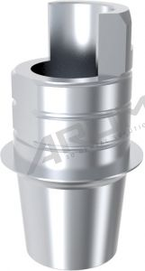 ARUM INTERNAL TI BASE SHORT TYPE NON-ENGAGING - Compatible with MegaGen® Exfell