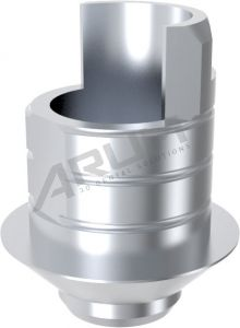 ARUM INTERNAL TI BASE SHORT TYPE NON-ENGAGING - Compatible with Bego® Internal 4.5