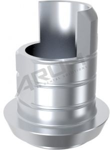 ARUM INTERNAL TI BASE SHORT TYPE 3.8 NON-ENGAGING - Compatible with Conelog®