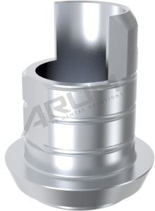 ARUM INTERNAL TI BASE SHORT TYPE 5.0 (WP) NON-ENGAGING - Compatible with Conelog®