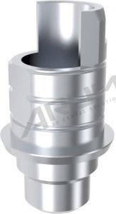 ARUM INTERNAL TI BASE SHORT TYPE NON-ENGAGING - Compatible with Dentsply® Xive® 3.0