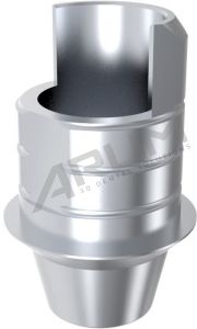 ARUM INTERNAL TI BASE SHORT TYPE (WP) 5.7 NON-ENGAGING - Compatible with Implant Direct® Legacy®