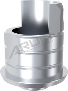 ARUM INTERNAL TI BASE SHORT TYPE NON-ENGAGING - Compatible with Nobel Biocare® Replace® NP 3.5