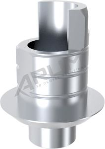 ARUM INTERNAL TI BASE SHORT TYPE NON-ENGAGING - Compatible with ZIMMER® Tapered Screw-Vent® 4.5
