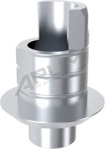 ARUM INTERNAL TI BASE SHORT TYPE NON-ENGAGING - Compatible with ZIMMER® Tapered Screw-Vent® 5.7