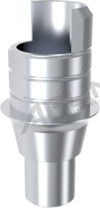 ARUM INTERNAL TI BASE SHORT TYPE NON-ENGAGING - Compatible with Medentis Medical® ICX 3.75/4.1/4.8