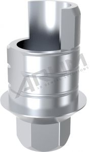 ARUM INTERNAL TI BASE SHORT TYPE ENGAGING - Compatible with MIS® Internal Hexagon Wide