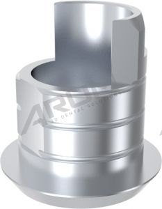 ARUM EXTERNAL TI BASE SHORT TYPE NON-ENGAGING - Compatible with MegaGen® Rescue External 6.0