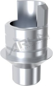 ARUM INTERNAL TI BASE SHORT TYPE NON-ENGAGING - Compatible with MIS® Internal Hexagon Wide