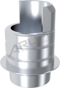 ARUM INTERNAL TI BASE SHORT TYPE NON-ENGAGING - Compatible with C-Tech® Esthetic Line 3.8/4.3/5.1